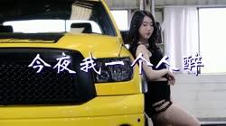 今夜我一个人醉 DJ东旺 美女车模慢摇汽车音乐视频