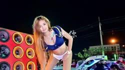 喜欢你 DJZpky 美女热舞慢摇汽车音响视频