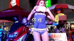 停摆 DJ伟然 美女热舞汽车音响视频