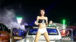 父亲 DJ阿帆 美女热舞汽车音响视频