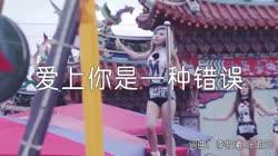 爱上你是一种错误 DJ沈念版 美女热舞汽车音响视频