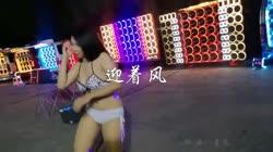 迎着风 DJ王贺 美女热舞汽车音响视频