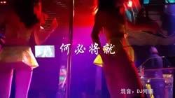 何必将就 DJ何鹏 DJ美女打碟现场视频